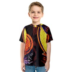 Cryptography Of The Planet Kids  Sport Mesh Tee