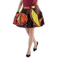 Cryptography Of The Planet A Line Pocket Skirt