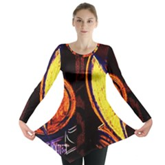 Cryptography Of The Planet Long Sleeve Tunic