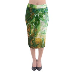 Close To Pinky,s House 11 Midi Pencil Skirt