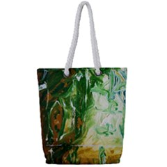 Close To Pinky,s House 11 Full Print Rope Handle Tote (small)