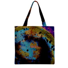 Blue Options 5 Grocery Tote Bag