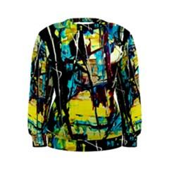 Dance Of Oil Towers 3 Women s Sweatshirt