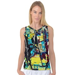 Dance Of Oil Towers 3 Women s Basketball Tank Top