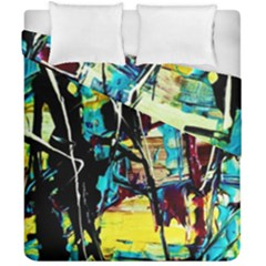 Dance Of Oil Towers 3 Duvet Cover Double Side (california King Size)