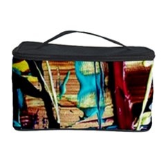 Dance Of Oil Towers 4 Cosmetic Storage Case