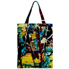 Dance Of Oil Towers 4 Zipper Classic Tote Bag