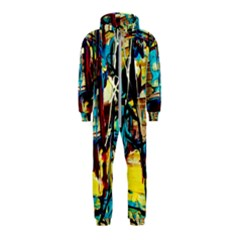 Dance Of Oil Towers 4 Hooded Jumpsuit (kids)