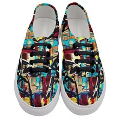 Dance Of Oil Towers 4 Women s Classic Low Top Sneakers