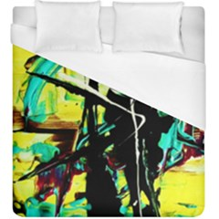Dance Of Oil Towers 5 Duvet Cover (king Size) by bestdesignintheworld