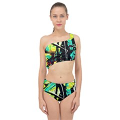 Dance Of Oil Towers 5 Spliced Up Swimsuit