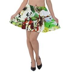 Doves Matchmaking 12 Velvet Skater Skirt
