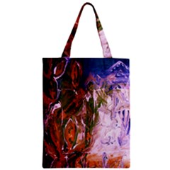 Close To Pinky,s House 12 Zipper Classic Tote Bag