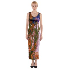 Close To Pinky,s House 12 Fitted Maxi Dress