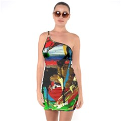 Catalina Island Not So Far 7 One Soulder Bodycon Dress