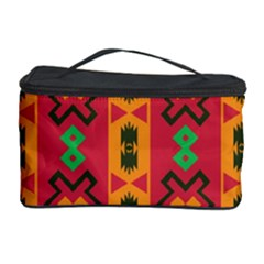 Tribal Shapes In Retro Colors                                 Cosmetic Storage Case