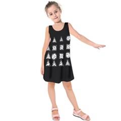 Drawing  Kids  Sleeveless Dress