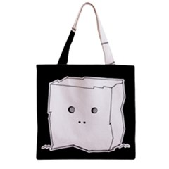Drawing  Zipper Grocery Tote Bag