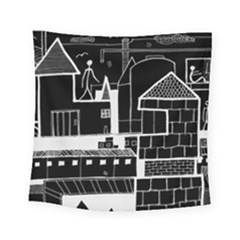 Drawing  Square Tapestry (small)