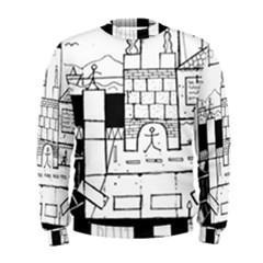 Drawing  Men s Sweatshirt