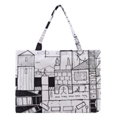 Drawing  Medium Tote Bag