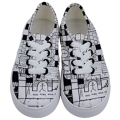 Drawing  Kids  Classic Low Top Sneakers