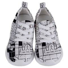Drawing  Kids  Lightweight Sports Shoes