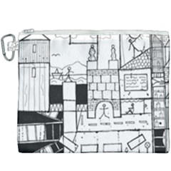 Drawing  Canvas Cosmetic Bag (xxxl)