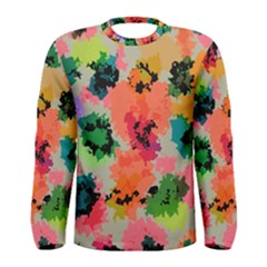 Colorful Spots                                   Men Long Sleeve T Shirt