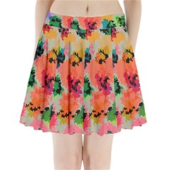 Colorful Spots                               Pleated Mini Mesh Skirt