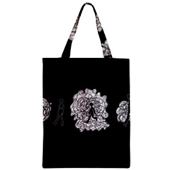 Drawing  Zipper Classic Tote Bag