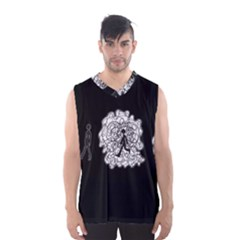 Drawing  Men s Basketball Tank Top