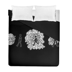 Drawing  Duvet Cover Double Side (full/ Double Size)