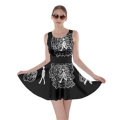 Drawing  Skater Dress