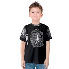 Drawing  Kids  Cotton Tee