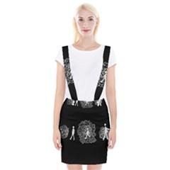 Drawing  Braces Suspender Skirt