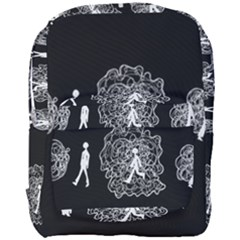 Drawing  Full Print Backpack