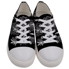 Drawing  Women s Low Top Canvas Sneakers