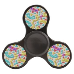3d Shapes On A Grey Background                             Finger Spinner by LalyLauraFLM