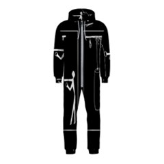 Drawing  Hooded Jumpsuit (kids)