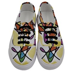 Abstract Art Colorful Men s Classic Low Top Sneakers