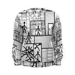 Drawing Women s Sweatshirt