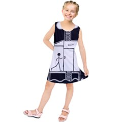 Drawing Kids  Tunic Dress by ValentinaDesign