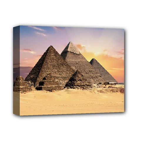 Ancient Archeology Architecture Deluxe Canvas 14  X 11