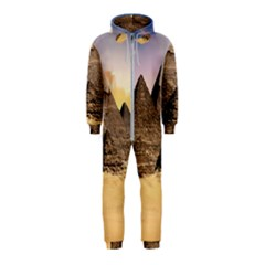 Ancient Archeology Architecture Hooded Jumpsuit (kids)