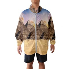 Ancient Archeology Architecture Wind Breaker (kids)