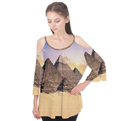 Ancient Archeology Architecture Flutter Tees