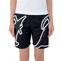 Drawing Women s Basketball Shorts