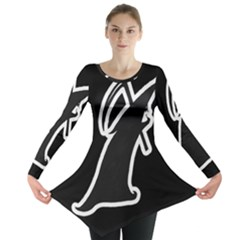 Drawing Long Sleeve Tunic