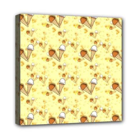 Funny Sunny Ice Cream Cone Cornet Yellow Pattern  Multi Function Bag